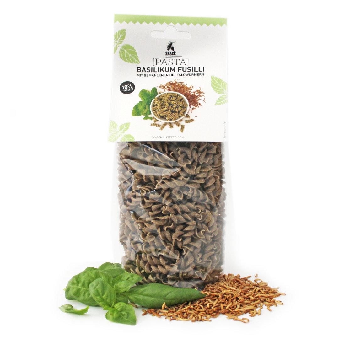 insekten pasta 39 fusilli 39 hier insekten protein nudeln kaufen. Black Bedroom Furniture Sets. Home Design Ideas