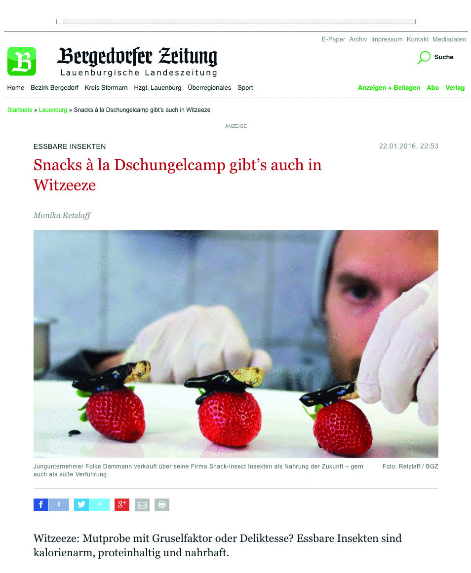 Snack-Insects_in_der_Bergedorfer_Zeitung