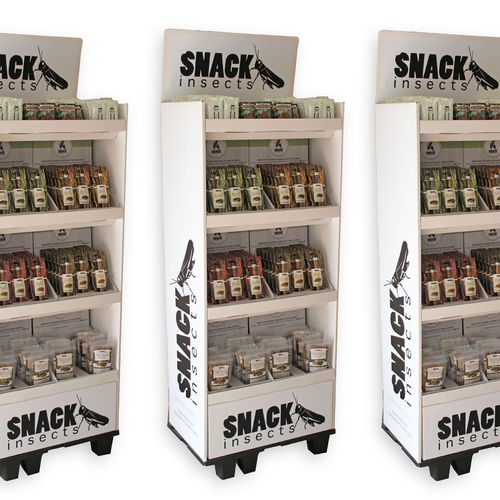 SNACK-INSECTS STANDDISPLAYS - Serien-Angebote